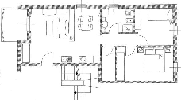 Edirigenti spa intervento guiglia residence san geminiano for Planimetrie della coperta